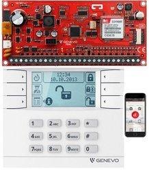ZESTAW ALARMOWY GENEVO LCD GSM PRiMASL 64 SET
