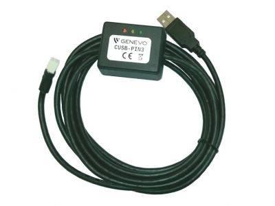 KABEL USB CUSB-PIN3 GENEVO PROGRAMUJĄCY ALARM