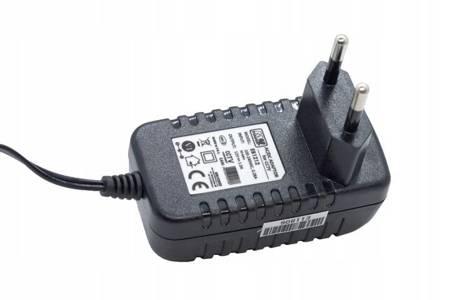 Zasilacz wtyczkowy do kamer, LED EB1212 12V 1A 12W